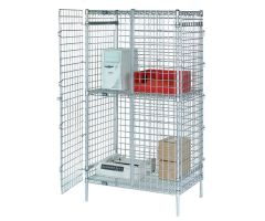 Nexel  Wire Security Shelving Units