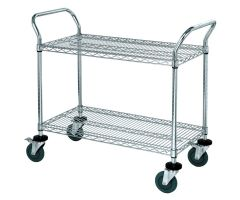 AliMed  Wire Utility Cart, 2 Shelf