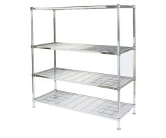 Lakeside  Square Post Wire Shelving Starter Units