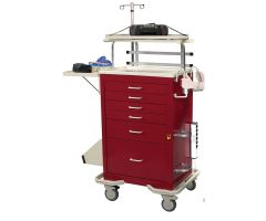 AliMed  Cart Accessory, Corner Defib Shelf