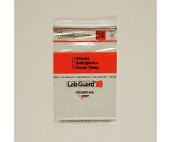 Biohazard Specimen Bags, 6 x 9
