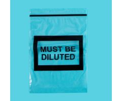 Must Be Diluted Bags, 4 x 6