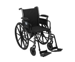 Lightweight Wheelchair Cruiser III Dual Axle Desk Length Arm Flip-960341