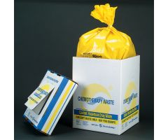 Chemo Waste Soft Goods Container,15 Gal.