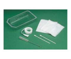 Mini Tracheostomy Clean & Care Tray, Nonsterile