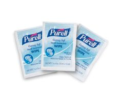 Hand Sanitizing Wipe Purell 1,000 Count Ethyl Alcohol Wipe Individual Packet