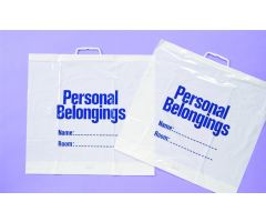 NWI Plastic Personal Belongings Bag