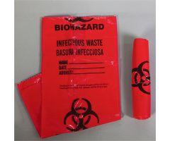 Biohazard Bags, 3-Gallon
