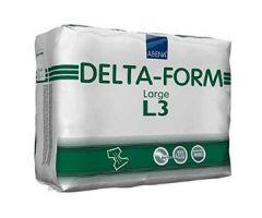Abena Delta-Form Adult Brief, Large L3