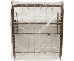 Split Spring Bed Cover, 1 mil, 72x52