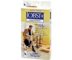 Men's Dress SupportWear Knee-High Mild Compression Socks, Toe, Brown