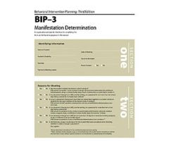 BIP-3 Manifestation Determination Forms (25)