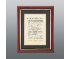 Pharmacists Oath Framed Print