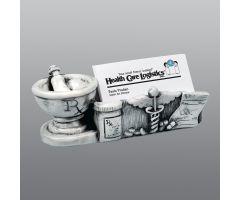 Pharmacy Themed Marble Cardholder