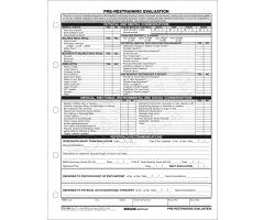Pre Restraining Assessment CFS3-1HH