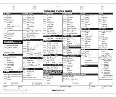 Resident Status Sheet