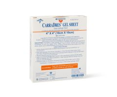 CarraDres Clear Hydrogel Sheets