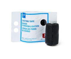 """Fiberglass Casting Tape, Black, 3"""" x 4 yd."""