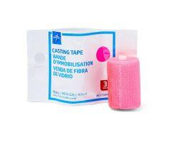 """Fiberglass Casting Tape, Pink, 3"""" x 4 yd."""