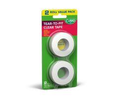 CURAD Transparent Adhesive Plastic Tape CUR262012C