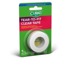 CURAD Transparent Adhesive Plastic Tape CUR26201C