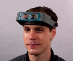 1.75x OptiVISOR Headset Magnifier