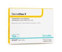 DermaView II Transparent Film Dressings by Dermarite Industries