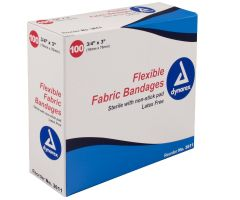 Adhesive Fabric Bandages by Dynarex Corporation DYA3611