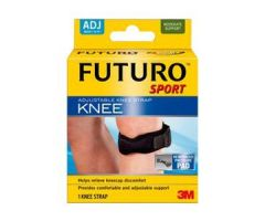3M Futuro Sport Adjustable Knee Strap, Black