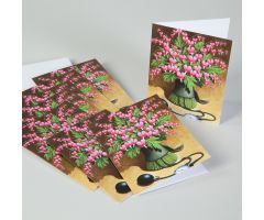 Bleeding Hearts Note Cards