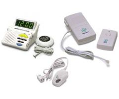 Sonic Alert Deluxe Alerting System With Wireless Doorbell & telephone transmitter