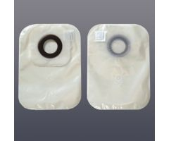 "Colostomy One-Piece Closed Pouch, 1-1/2"", W/ Filter,CS 30"