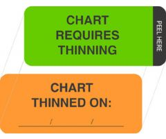 Chart Label  2 ply Action Label  Chart Requires Thinning (Chart Thinned On)