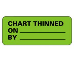 Chart Label  Chart Thinned