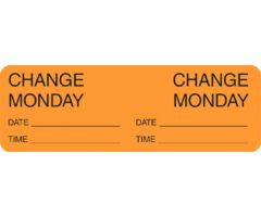 Label - Change Day - Monday