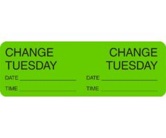 Label - Change Day -Tuesday
