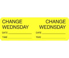 Label - Change Day -Wednesday