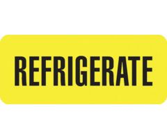 Medication Label - Refrigerate