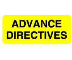 Chart Label  Advance Directives