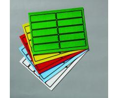 Chart ID Labels - Laser - Blank L-3581