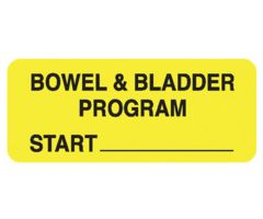 Chart Label  Bowel And Bladder Program