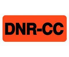 Chart Label  Code Status  DNR CC