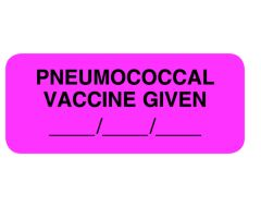 Chart Label - Pneumococcal Vaccine Given