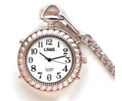 Silver Color Talking Pocket Watch