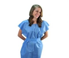 2-Ply Scrim Patient Gowns by Tidi