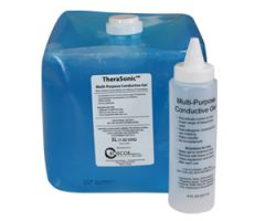 TheraSonic Ultrasound Gel, 5 Liter Container (1.3 gallon) with 8 ounce empty bottle