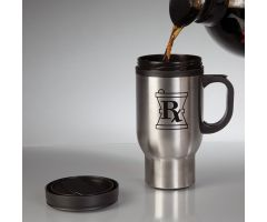 Travel Mug with Rx Symbol
