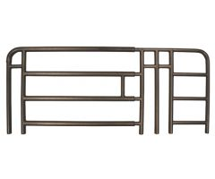Full Rail for Medline H/C Beds Spring Loaded, 4 Bar, 1 Pair