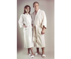 Diamond Waffle Weave Patient Robes MDTHR8D04WHI