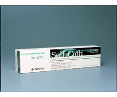 "Catheter Self 14fr 16"" Men450 St Tip Bx/50 L/F"